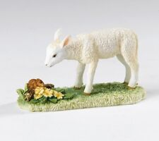 Border Fine Arts A25091 James Herriot Spring Encounter White Lamb Figurine