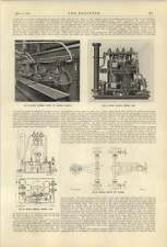 1921 White Duplex Pumping Unit Burners Babcock Boilers Joseph Jonas