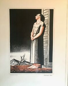 Set of Four Rockwell Kent prints by Schering 1942