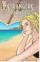 Strangers in Paradise XXV #6  Abstract Studio 2018 TERRY MOORE COVER A 1ST PRINT