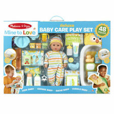 Melissa & Doug Mine To Love Deluxe 48 piece Baby Playset with Baby Doll