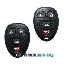 2 Keyless Entry Remote Key Fob Transmitter Clicker for 2007-2008 SATURN AURA SKY