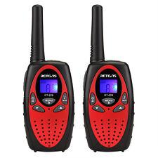 2x Retevis RT-628 Walkie-Talkie 0.5W UHF446MHz LCD-Anzeige Scan Sprechfunkgerät