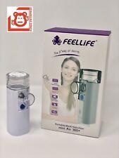 FeelLife Portable Mesh Ultrasonic Nebulizer, mini Air 360+,1 yr Factory Warranty