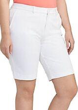 Lauren Ralph Lauren Jeans Co Bermuda Shorts in White US Plus Size 20 Wide $65