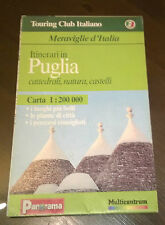 "Libri/Riviste/Giornali""TOURING CLUB ITALIANO PUGLIA CARTA PANORAMA MULTICENTRUM"""