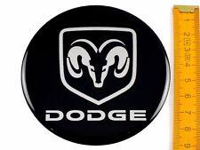 DODGE * 4 pezzi silicone * ø90mm ADESIVO EMBLEMA ADESIVI CERCHIONI COPRI RUOTA