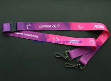 BRAND NEW 2012 LONDON PARALYMPICS OFFICIAL LANYARD,  AUTHENTIC, RARE!!! OLYMPIC