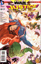JUSTICE LEAGUE #23 - Trinity War - New 52 - VARIANT COVER 1:25