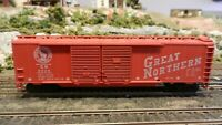 Athearn BB HO 50' Dbl Door Boxcar, Great Northern, Upgraded, Exc