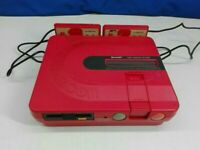[Best offer OK] Twin Famicom Sharp Red AN-500R Body only Tracking Japanese F/S