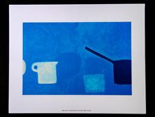"Pop Art by William Scott English Artist Giclee Print ""Cup & Pan Blues"" London"