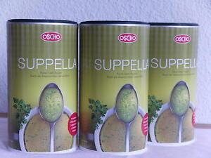 (EUR10,47/kg)Suppella tellofix Oscho Allwürze vegan lactosefr. glutenf. 3 Dosen