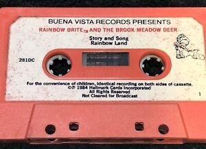 Rare Vintage Cassette Tape Rainbow Brite And The Brook Meadow Deer