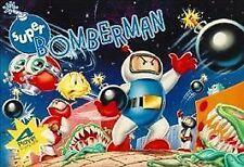 SUPER BOMBERMAN Super Nintendo SNES Game Cartridge