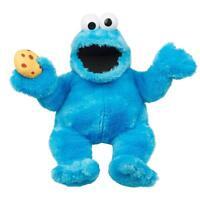 Sesamstraße Plüsch Krümelmonster mit Sound (37cm) Handpuppe Cookie Monster NEU