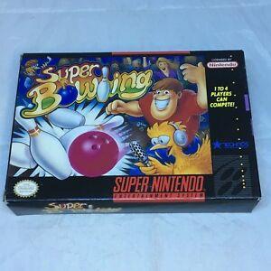 Super Bowling, Super Nintendo Entertainment System, 1992, CIB