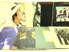 Joan Baez LP Vinyl Record Album Lot: Blessed Are + In Concert + Vol 2 +Best of +