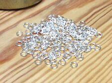 12 x 925 SOLID STERLING SILVER HEAVY Open Jump Rings - 5mm - Jewellery Making