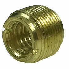 Light Gold Metal 5/8-inch Male to 3/8-inch Female Mic Screw for Microphone Stand