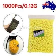 1000PCS Hard Airsoft Pellets BB Strikeball 0.12g, 6mm Tactical BB Balls (6mm)