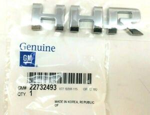 2006-2011 Chevrolet HHR chrome rear liftgate hatch Nameplate Emblem new OEM
