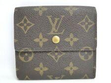 Louis Vuitton Trifold Wallet Porte Monnaie Billets Cartes M61652 41170023300 K
