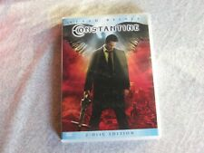 DVD Film Constantine - Keanu Reeves , 2-Disc Edition Mystery-Action-Thriller
