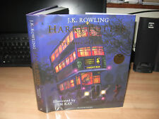 JK Rowling Jim Kay Signed Harry Potter & Prisoner of Azkaban 1st/1st illustrated