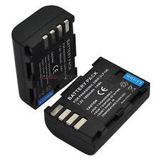 2x 1860mAh Battery for Panasonic DMW-BLF19E BLF19 Lumix DMC-GH3 DMC-GH4 DMC-GH5
