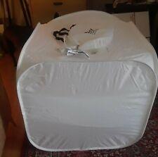 "Smith Victor Folding Light Tent 28"" Pop Up Light Tent w/ Clips & Pamphlet"