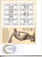 US SC # 3087 Centennial Olympic Games Pane Of 20 FDC . Artmaster Cachet