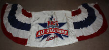 Vintage 1985 MLB All Star Game Bunting Banner Hanging Approx 7.5x3