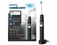 Philips Sonicare ProtectiveClean 4100 Plaque Control toothbrush Black New