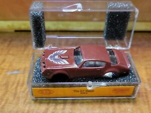 MEV originals brown Firebird Trans Am  tjet slot car body
