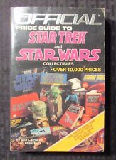 1986 Official Price Guide to STAR WARS & TREK Ballantine Paperback VG+