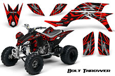 YAMAHA YFZ 450 03-13 ATV GRAPHICS KIT DECALS STICKERS CREATORX BOLT THROWER RED