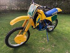 1988 SUZUKI RM 125 SLINGSHOT CLASSIC MOTOR CROSS BIKE STUNNING