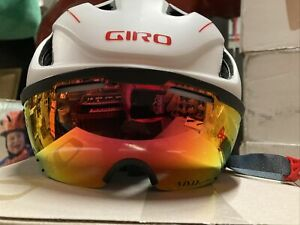 ! Giro Vanquish MIPS Adult Small Cycling Bike Bicycle Helmet White/Gray/Red