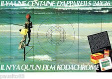 PUBLICITE ADVERTISING 016  1982  KODACHROME  film diapositive  KODAK (2p)