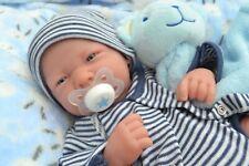 ❤️ Cutie Pie ❤️ BERENGUER LA NEWBORN BABY BOY DOLL + EXTRAS FOR REBORN PLAY NEW