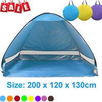 2-3 Person Portable Beach Sun UV Shade Shelter Tent Cabin Kid Outdoors Picnic