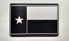 TEXAS FLAG, Billet Aluminum Trailer Hitch plug Cover, 3x5