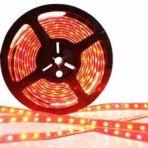 24v 5M RED LED 3528 SMD STRIP BRIGHT LIGHT MARKER SCANIA ACTROS ATEGO MAN VOLVO