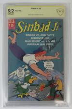 CBCS Graded 9.2 NM-, DELL Sinbad Jr. #2 (2/1966), Signed Tim Matheson