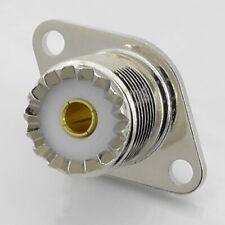 SO239 UHF Female Chassis Socket, Bulkhead Two Hole, PL259 Socket, 2 Hole