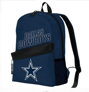Dallas Cowboys Backpack NEW by Northwest Crossline Model Official Merchandis NFL