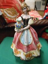 "Beautiful Statue/Figure Made in ITALY...""Peasant Woman Carrying Water Jug"""