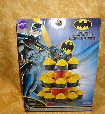 Batman,Dark Knight,Cupcake/Treat Stand,Cardboard,Wilton,1512-5140,DC Comics