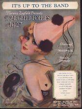 It's Up To The Band Ziezfeld Follies of 1927 Sheet Music